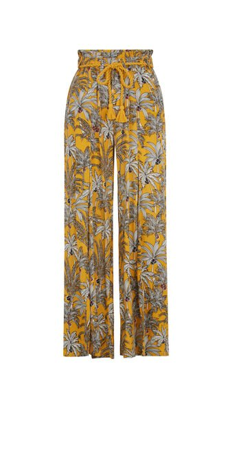 Горчично-желтые брюки yellopalmiz yellow.