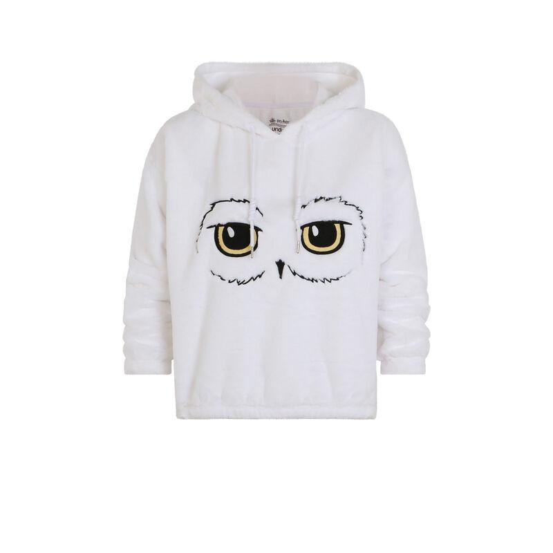 Hedwig fleece sweatshirt - white;
