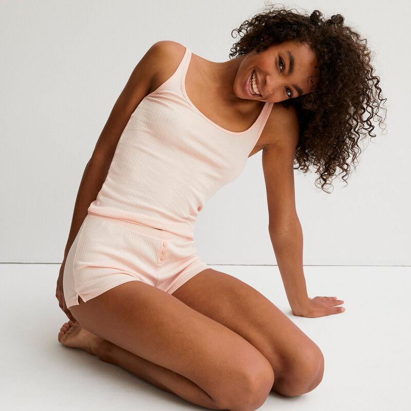 Plain short shorts - pink ;
