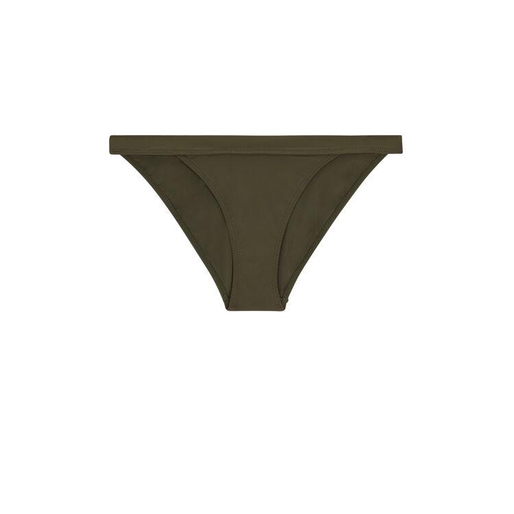 Sahariz khaki bikini briefs;