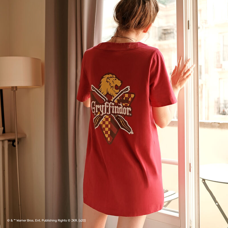 Gryffindor tunic - burgundy;