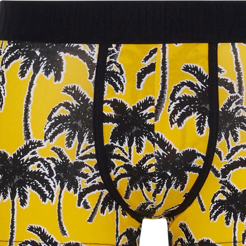 Palmitiz cotton boxers with print;