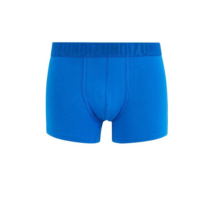 Unifarbene Boxershorts aus Bio-Baumwolle;