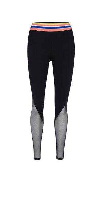 Popstripiz black leggings black.