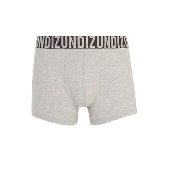 Oreliz light grey boxer shorts grey.