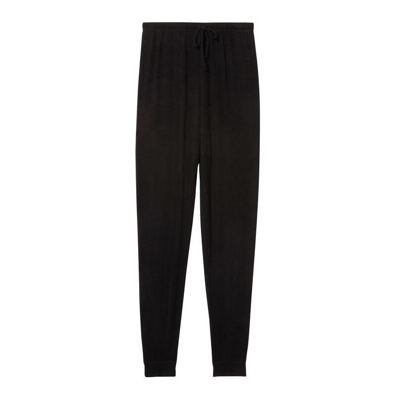 Mesh trousers - black ;