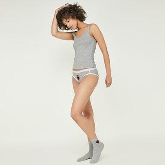 Roserangiz grey socks grey.