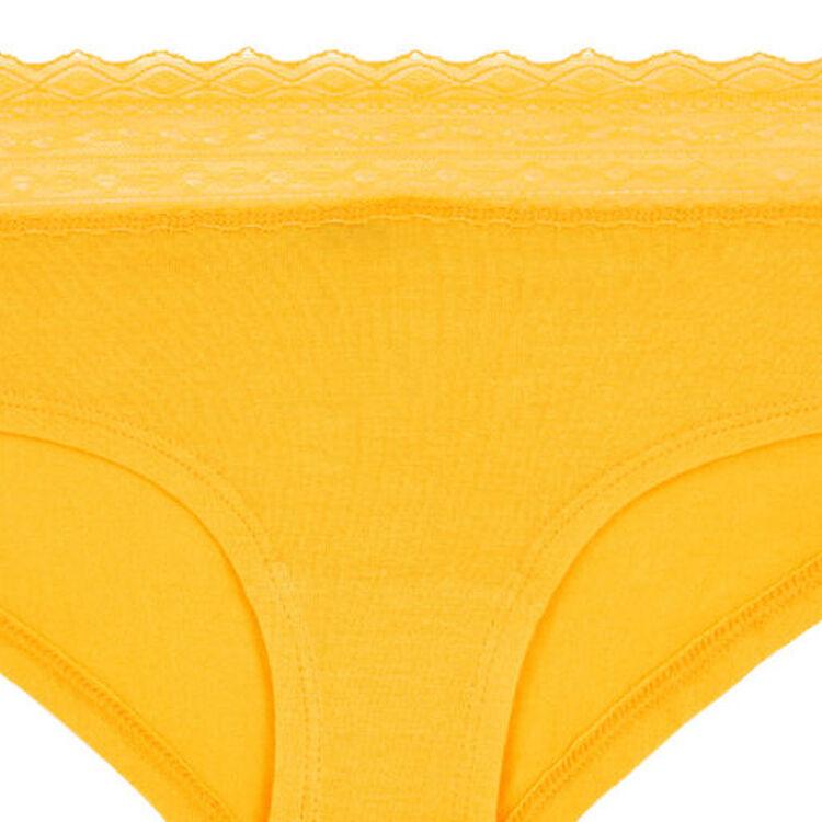 Waistiz plain cotton shorty;