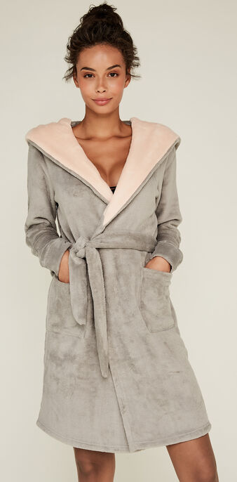 Pampamiz grey dressing gown grey.