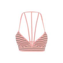 Розовый бюстгальтер-бюстье пуш-ап simpliz  pink.
