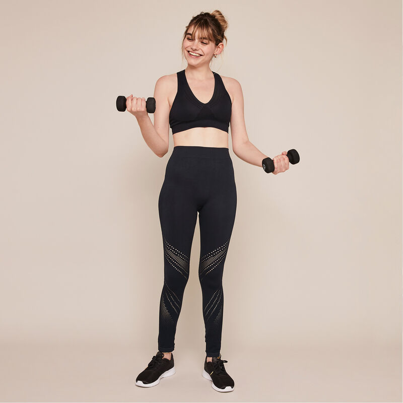 Herosportiz plain seamless sports leggings;