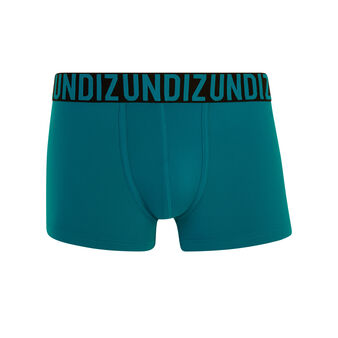 Oreliz teal blue boxer shorts blue.