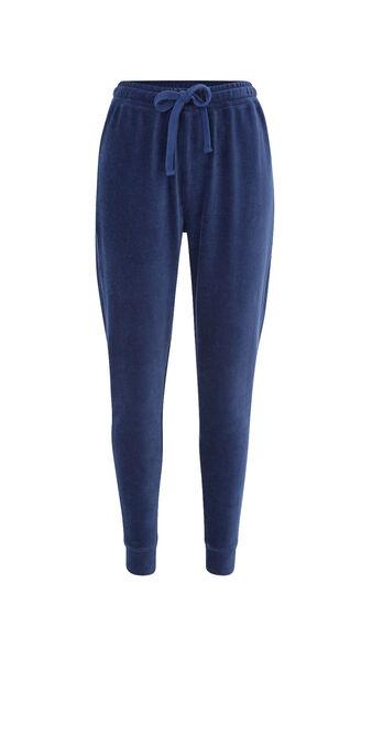 Largecrochiz blue jogging bottoms blue.