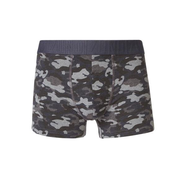 Militariz black boxer shorts;${refinementColor}