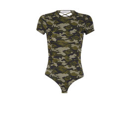 Camoiz khaki green bodysuit green.