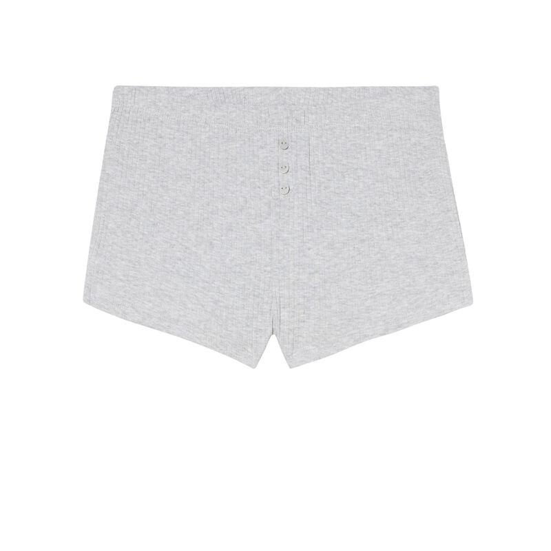 short court uni - gris;
