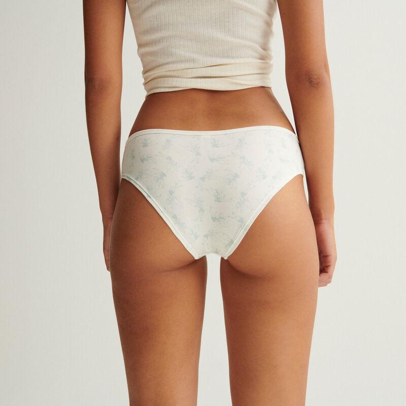 трусики-шорты с рисунком «Фея Динь-Динь» - белый;