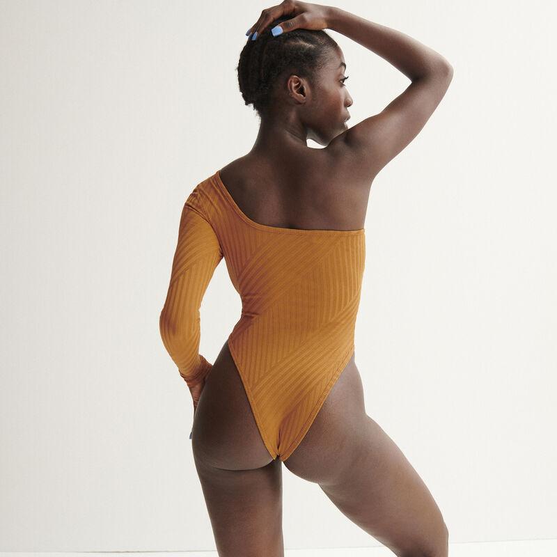 body asymétrique Aya x undiz - caramel;