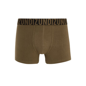 Oreliz khaki green boxer shorts green.