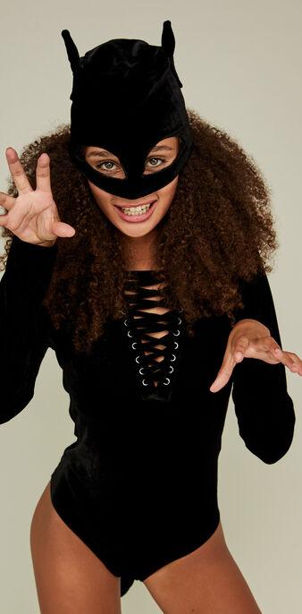 Catiwomiz black bodysuit black.