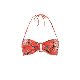 Spaniz coral bandeau  red.
