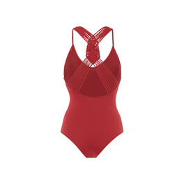 Canoeiz burgundy bodysuit red.