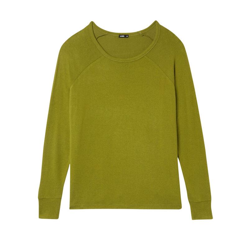 long-sleeve top - khaki;