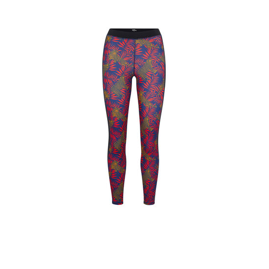 TIGERTROPIZ BLACK LEGGINGS;