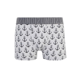 Belrayiz light grey boxer shorts grey.
