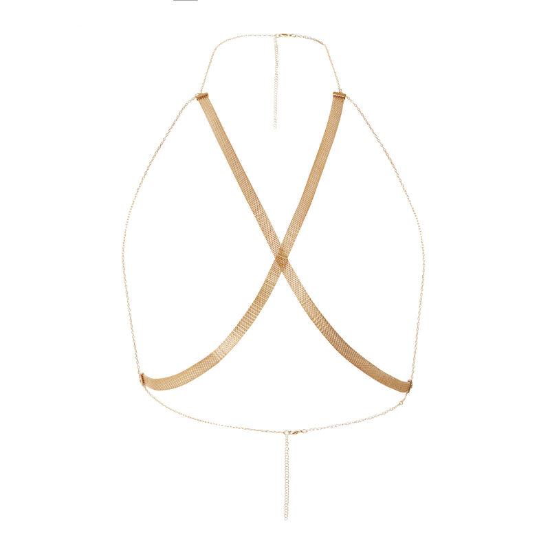 harnais en chaines dorées Aya x undiz - doré;