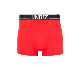 Omerchil red boxers red.