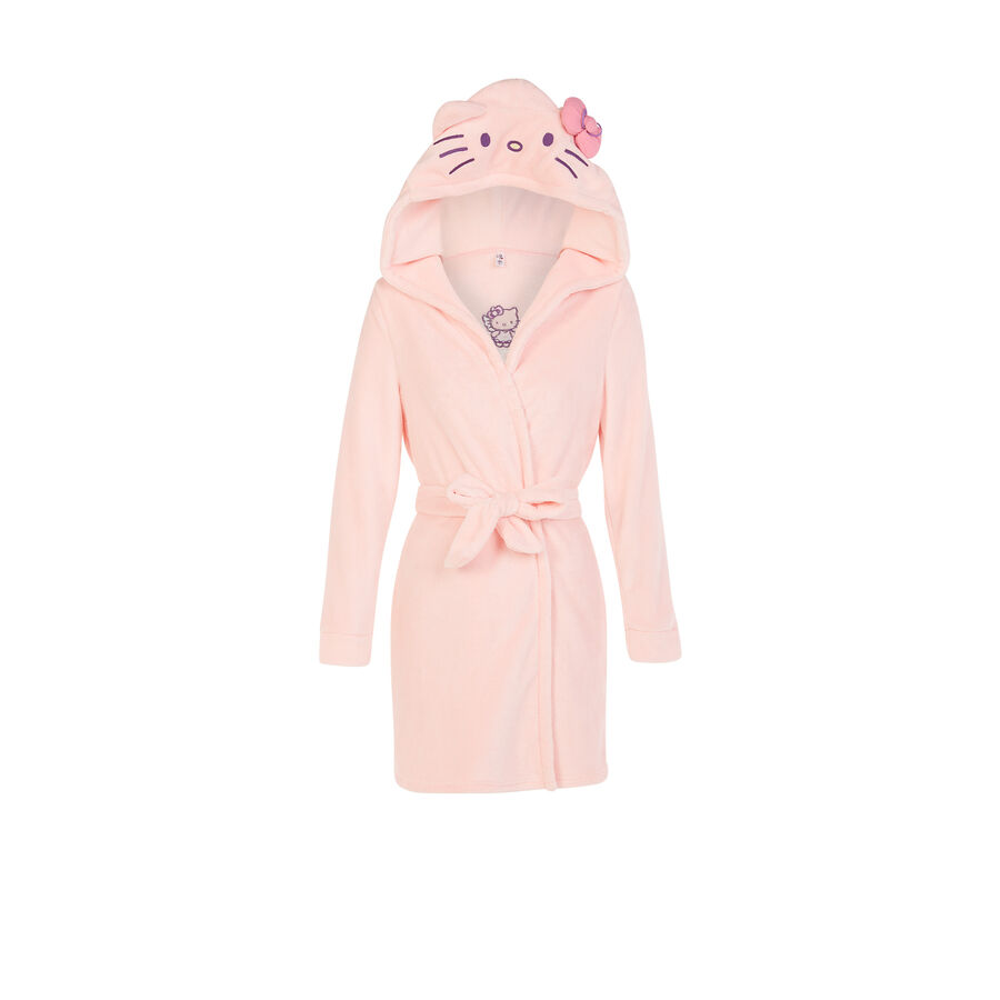 Raikiz light pink bathrobe;${refinementColor}