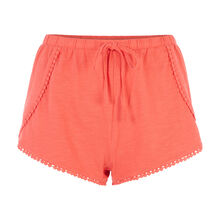 Pompiz red shorts red.