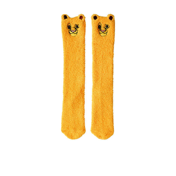 Simbabiz long yellow sock;${refinementColor}