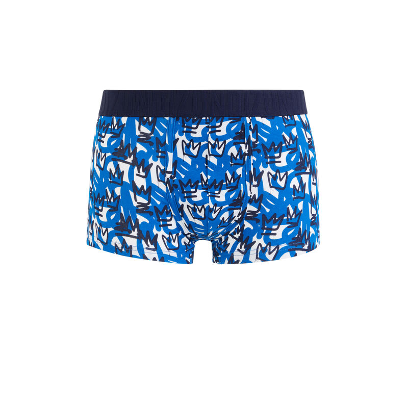 Baskingiz cotton crown print boxers;