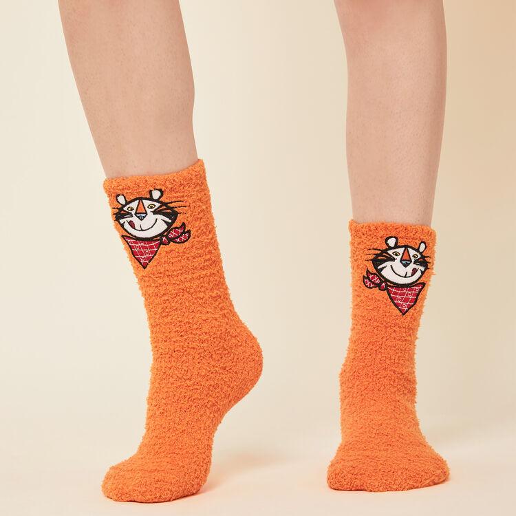 Socken aus Kunstfell Lizenz Kellogg's;