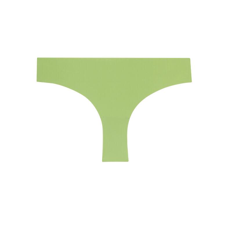 koronkowe figi z mikrofibry – kolor zielony;