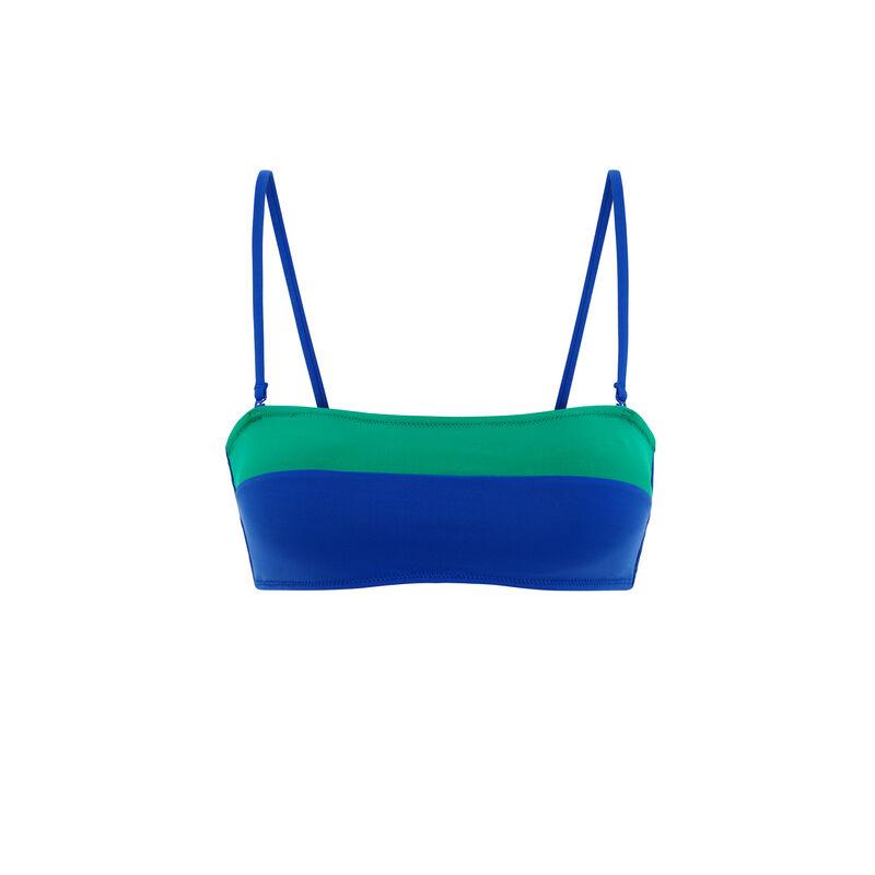 Szmaragdowozielona góra do bikini colorsurfiz;