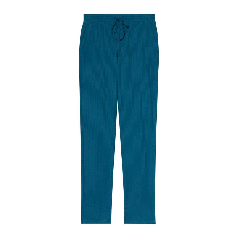 Jersey trousers - blue ;