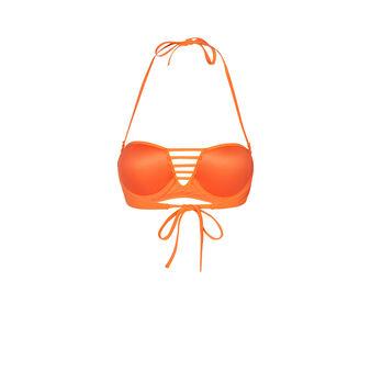 Tahitiz orange bikini top orange.