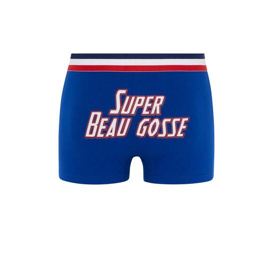 Синие трусы-боксеры superbogossiz;