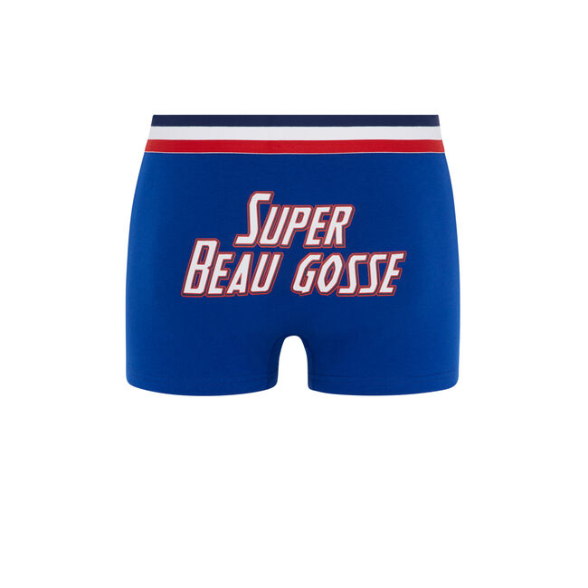 Superbogossiz blue boxers;