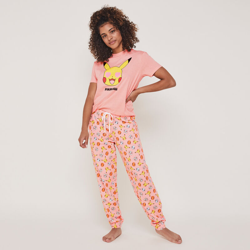Pickacutiz Pikachu print top with round neck;