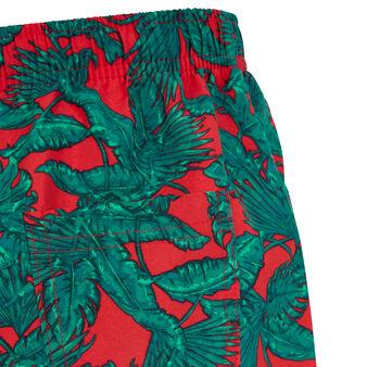 Shorts de baño rojos bofeuilliz red.