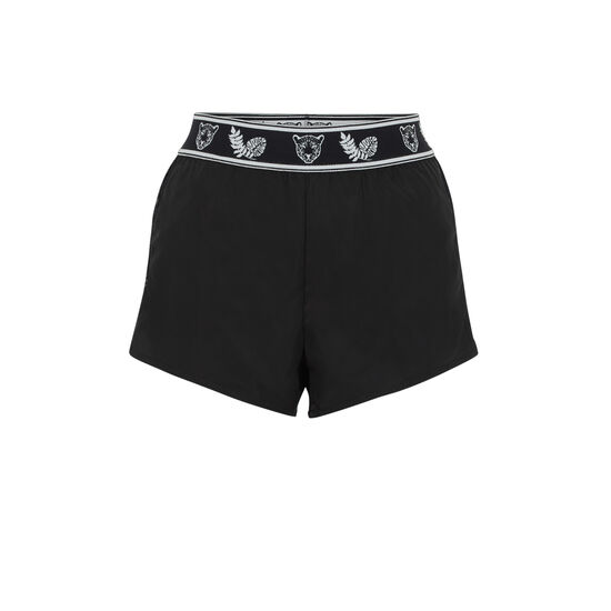 PUNKSPORTIZ BLACK SHORTS;
