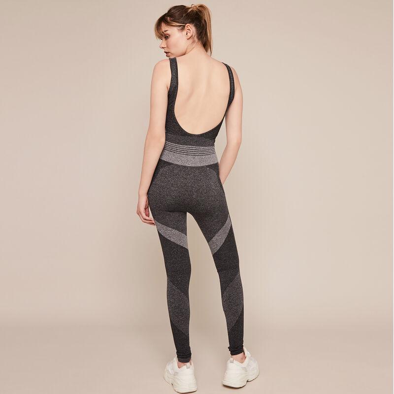 Seamblockiz seamless sports jumpsuit;
