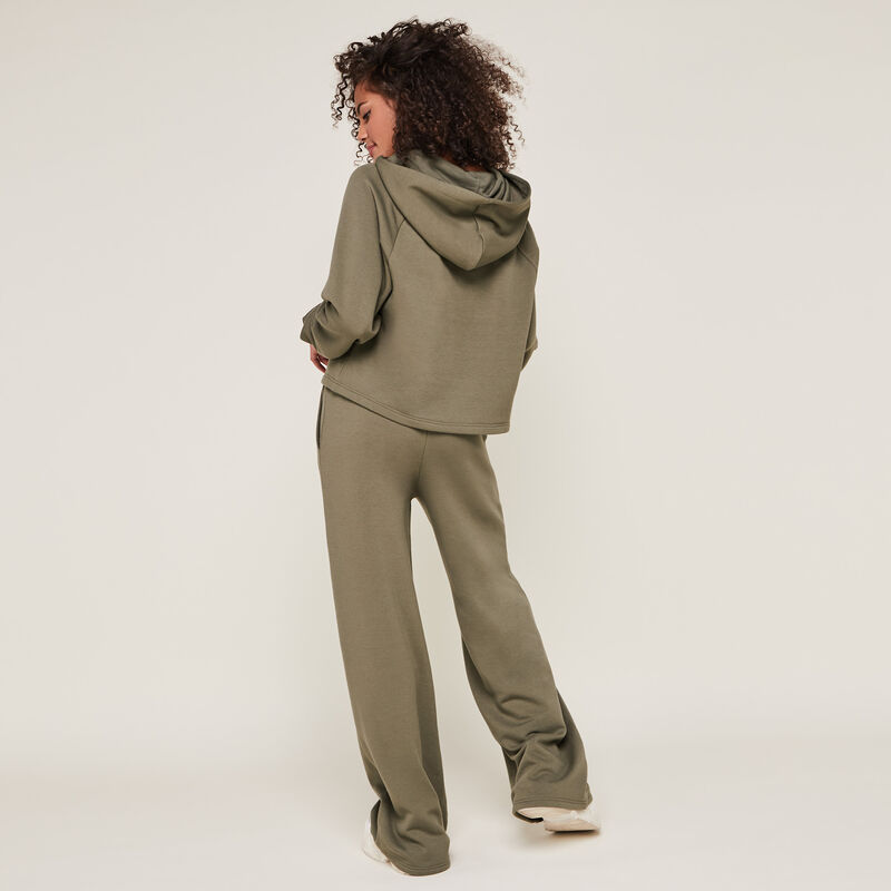 croisileoiz loose pants with string;