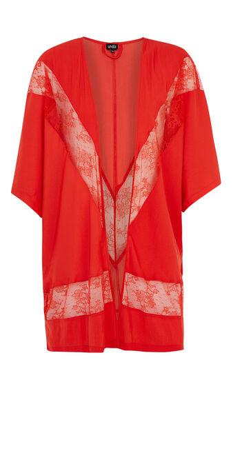 Enticiz red kimono red.