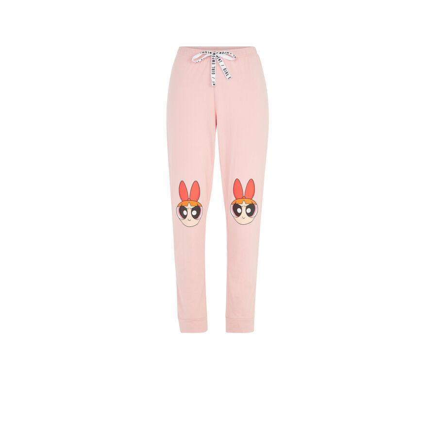 Pink nanabelliz pants;
