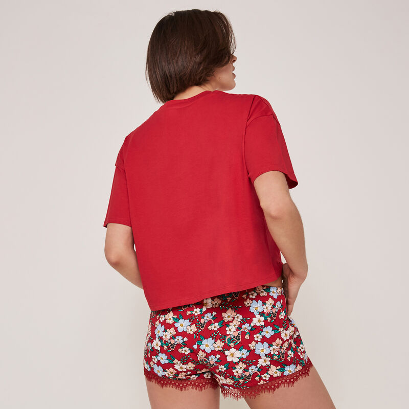 Stupidiz shorts with print;